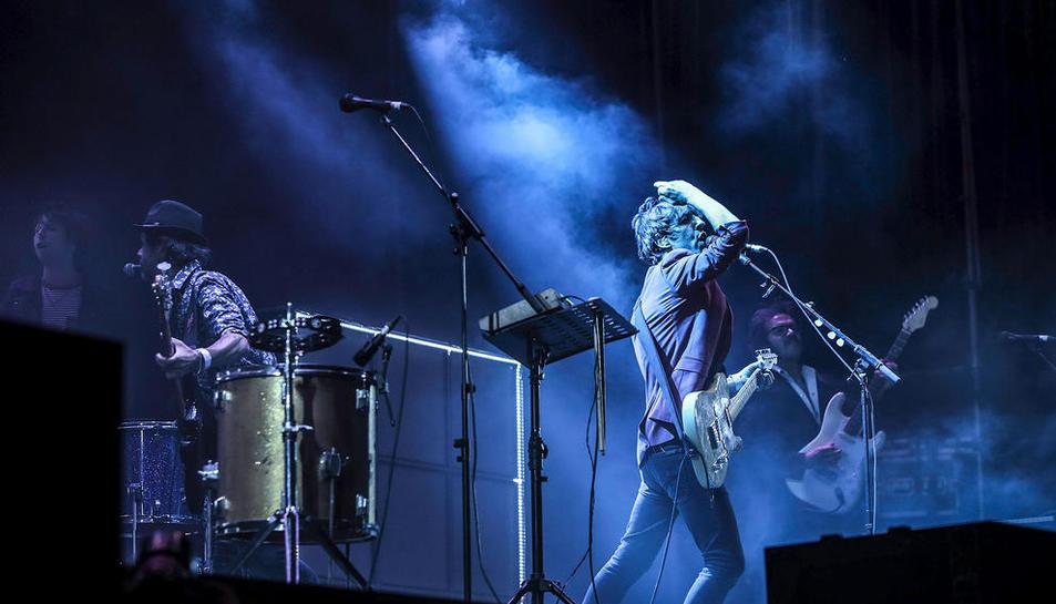 La banda catalana Sidonie, en una imatge d'arxiu durant un concert recent.