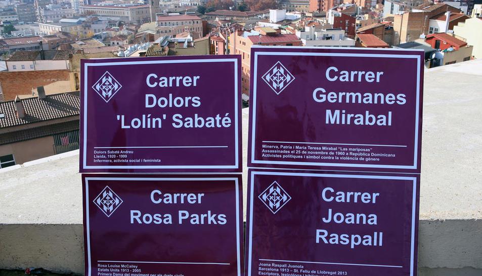 La Paeria anuncia que Rosa Parks, Joana Raspall, Dolors Sabaté y las Germanes Miraball tendrán calle en la ciudad