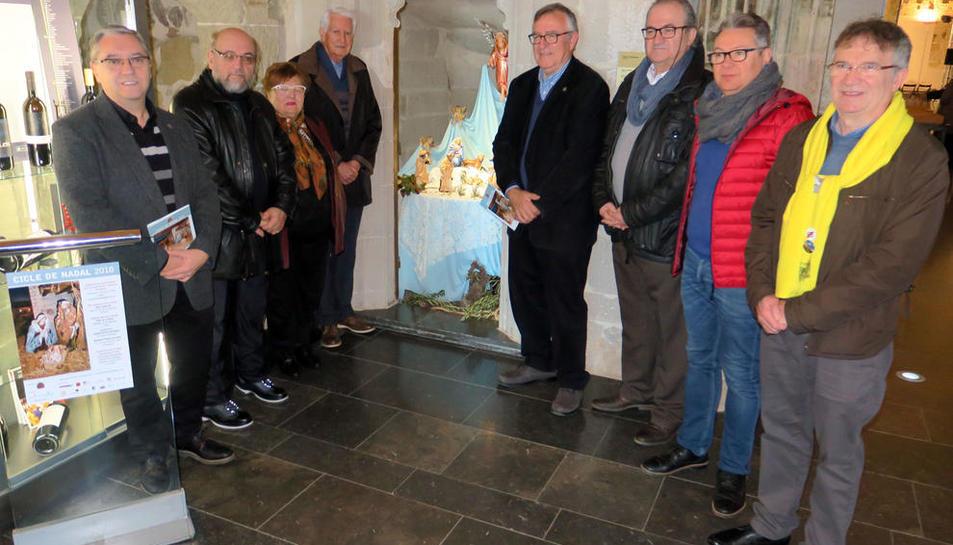 Comencen els actes del Cicle de Nadal amb la instal·lació del tradicional pessebre a la Seu Vella