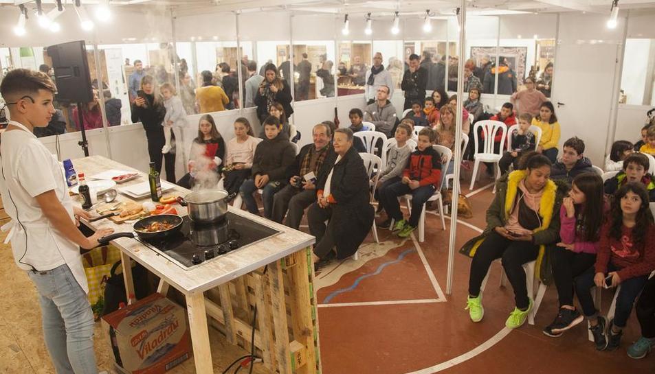 Éxito del show cooking de Héctor Robles de MasterChef Junior 5.