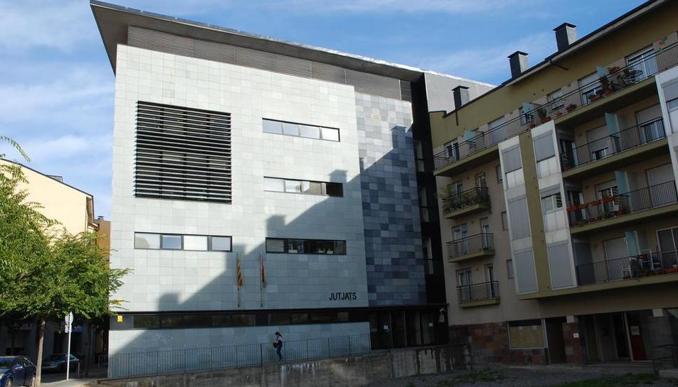 Imatge d'arxiu dels jutjats de la Seu d'Urgell.