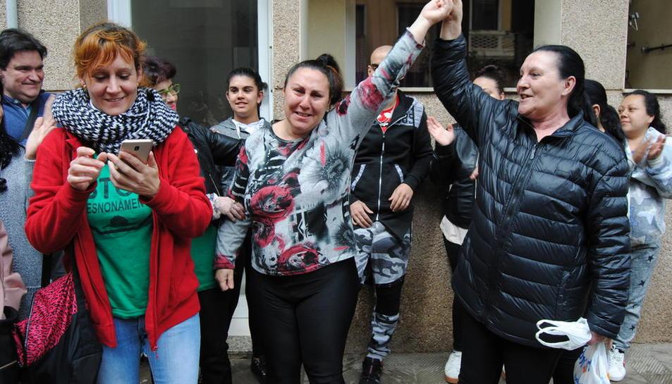 Una de les execucions paralitzades el 2018 a Balaguer.