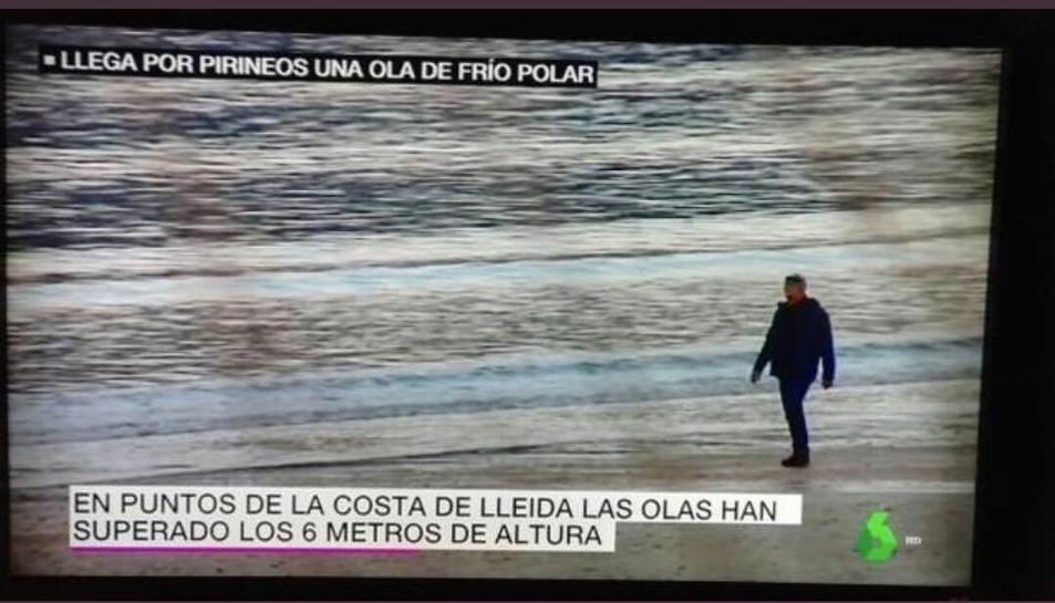 Platges de Lleida a La Sexta