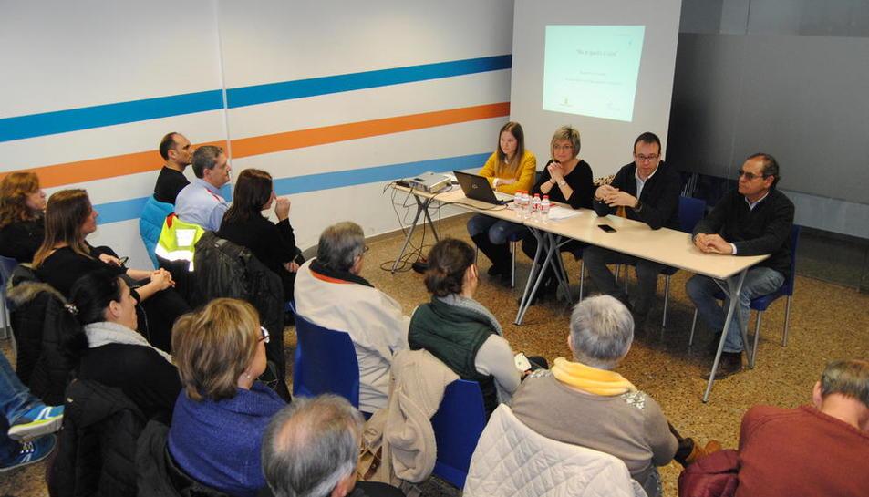 El consistorio presentó ayer los resultados a las entidades locales.