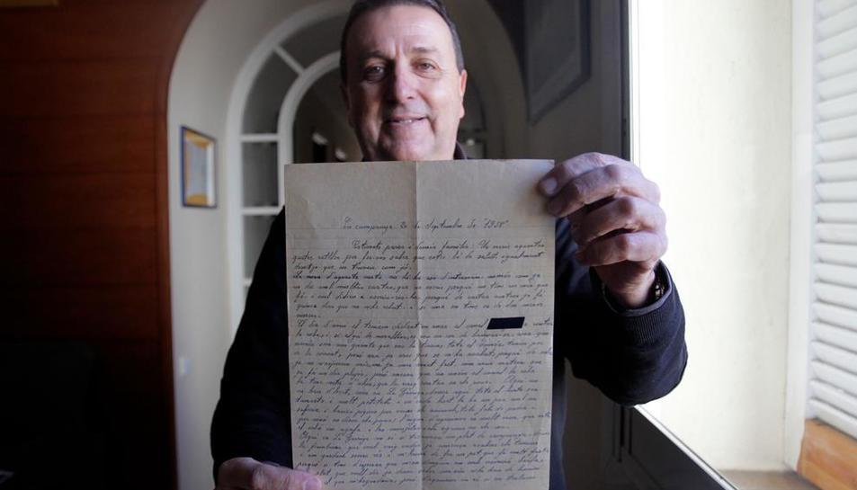 propaganda. Una de les cartes postal era propaganda de la mateixa brigada on va ser destinat el jove de la Garriga.