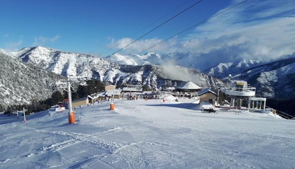 Imatge d'arxiu d'Espot Esquí