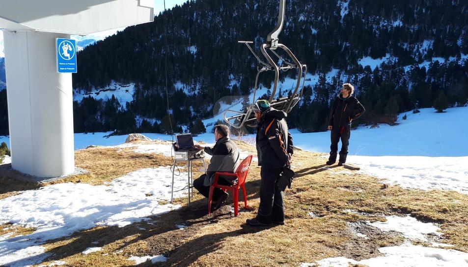 Segueix la inspecció del telecadira d'Espot per poder reobrir l'estació