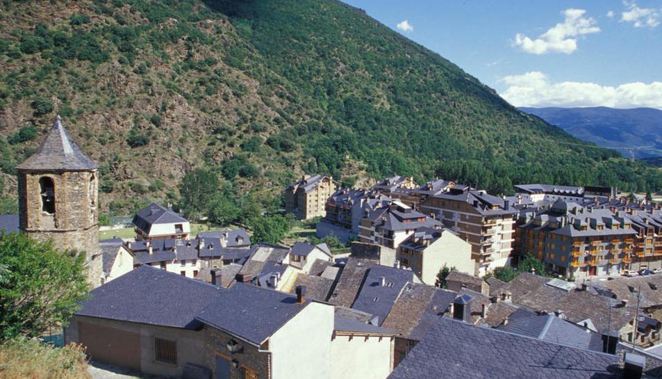 Imagen de archivo de la población del Rialp, en el Sobirà.