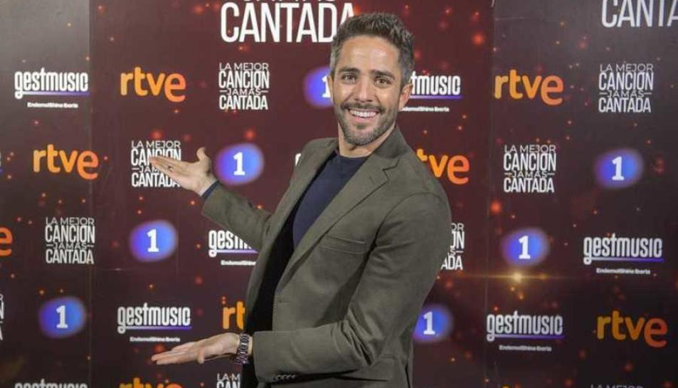 Roberto Leal, el presentador del nou programa de La 1.