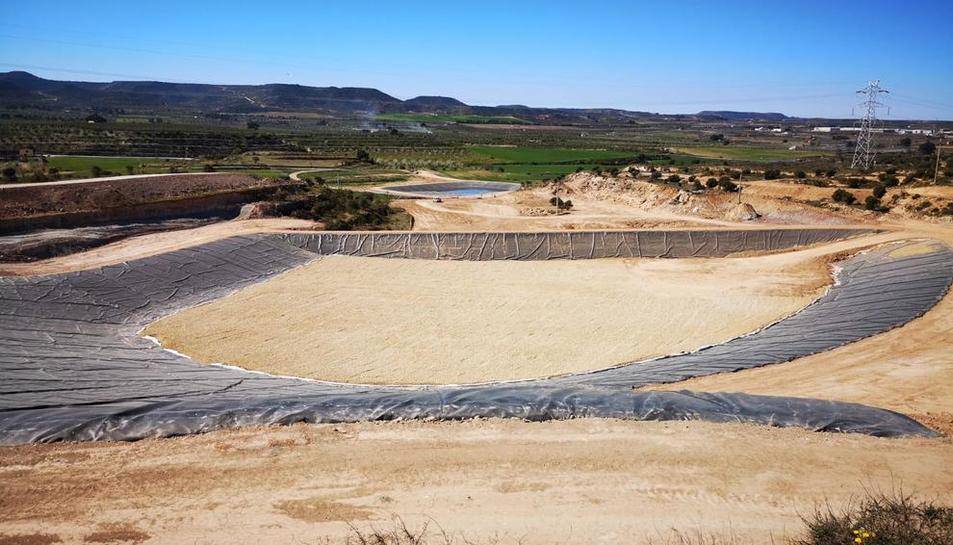 Las instalaciones del nuevo vertedero de Les Borges listo para entrar en funcionamiento.