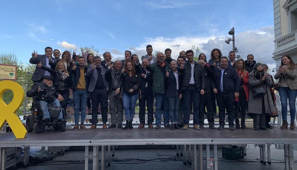 Postius presenta els 37 membres de la llista de Junts per Catalunya