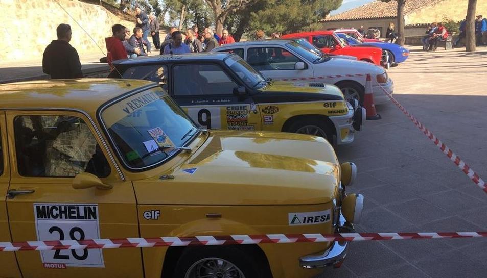 Una mostra dels cotxes clàssics, que va exposar Arbeca.
