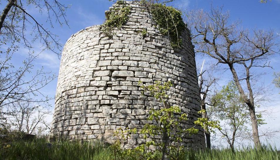 Imatge de la torre, que s'habilitarà perquè sigui visitable.