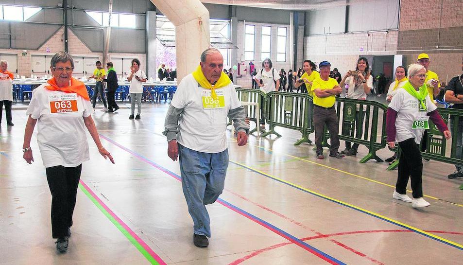 Una de las cuatro pruebas que formaron parte del programa deportivo.