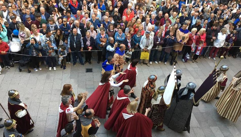 Los moros desafían a los cristianos en Lleida