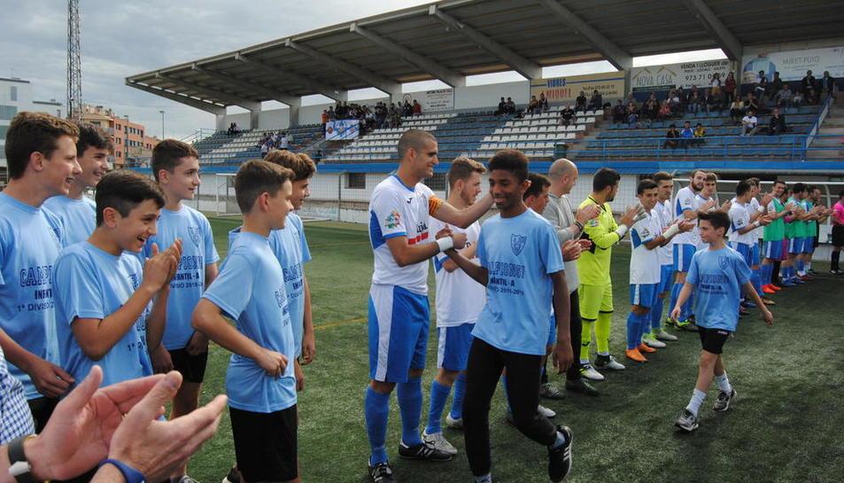 El campo acoge diferentes competiciones del CFJ Mollerussa.