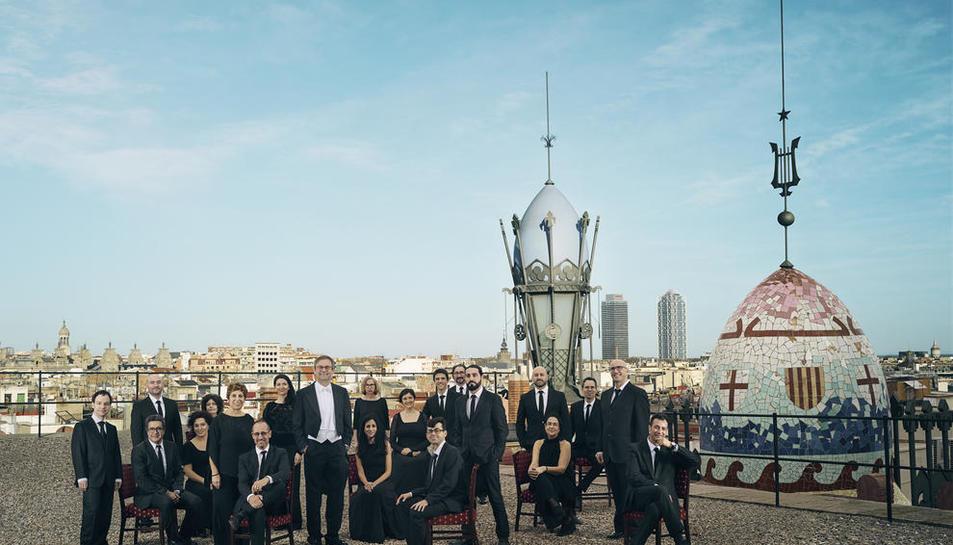 El Cor de Cambra del Palau de la Música, a la Seu, Tremp i Riner.