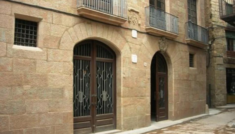 El ayuntamiento de Solsona, en el centro histórico de la capital.