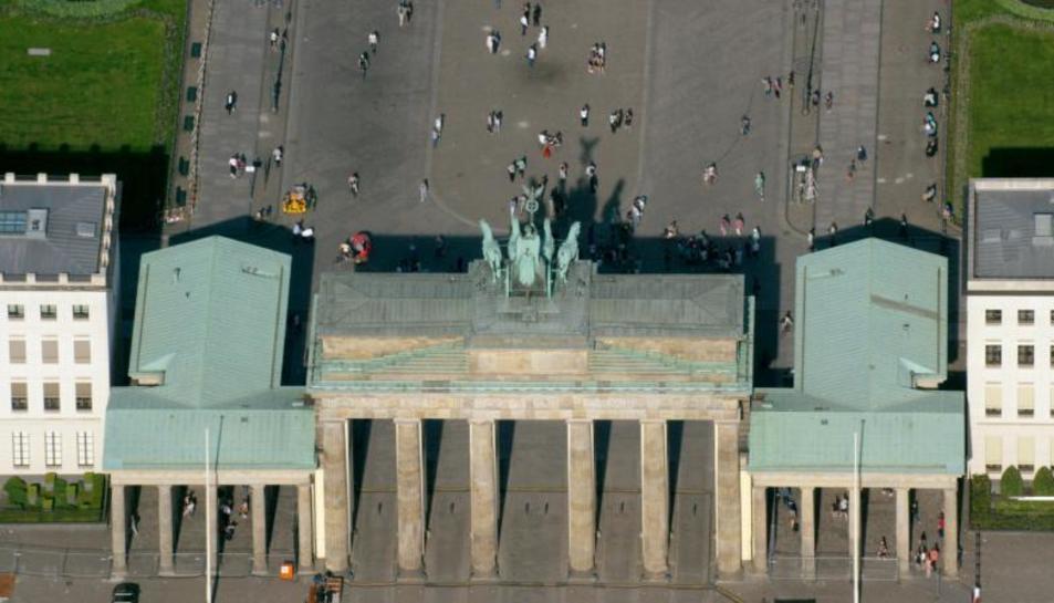 Los tejados de Berlín, en el 33