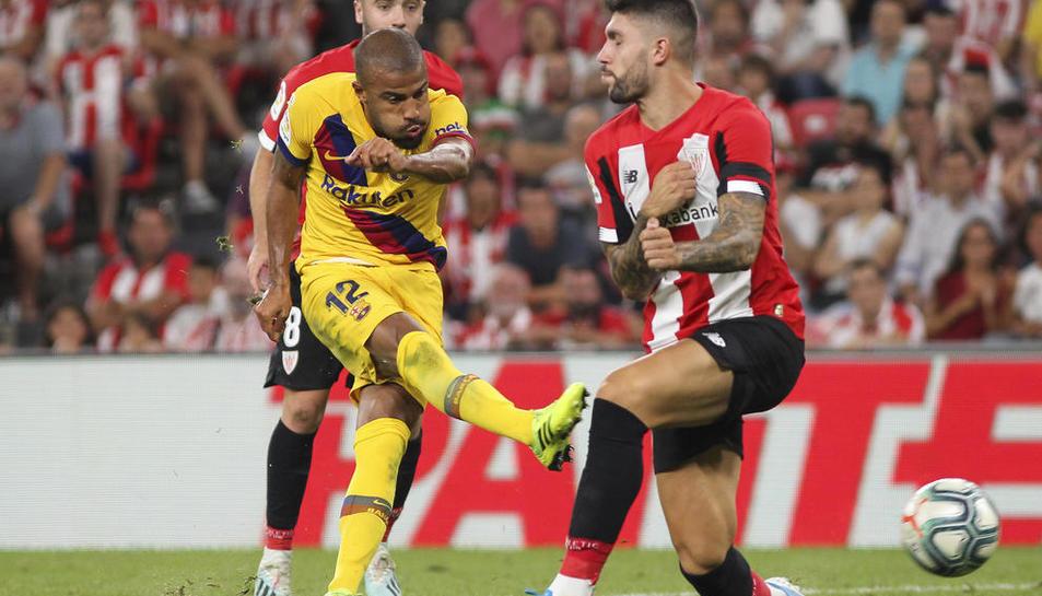 Rafinha va ser un dels jugadors que més van inquietar el porter de l'Athletic.