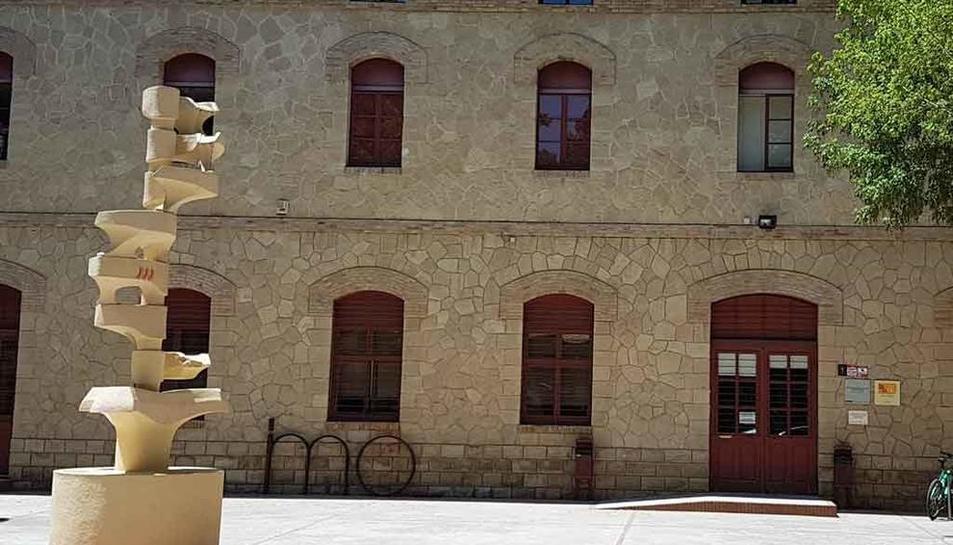 L'Institut Municipal d'Ocupació Salvador Seguí (IMO), al carrer Pare Palau de Lleida.