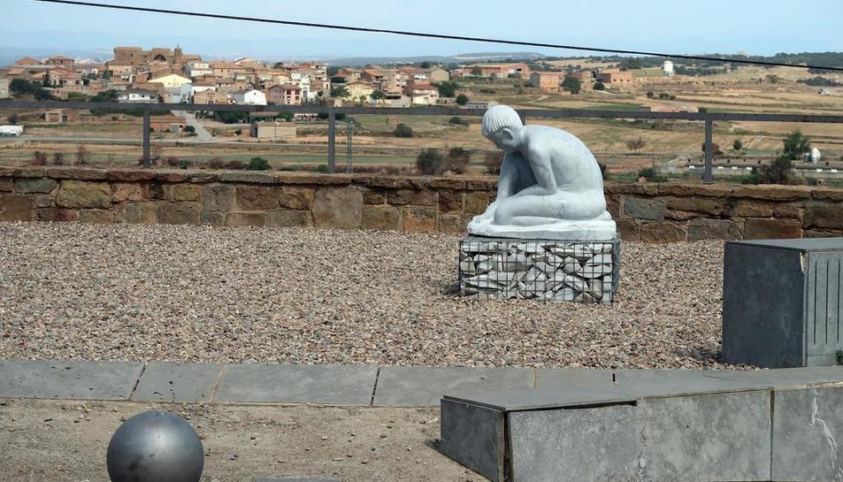 Imatge de l'escultura que ha donat Albert Cantero.