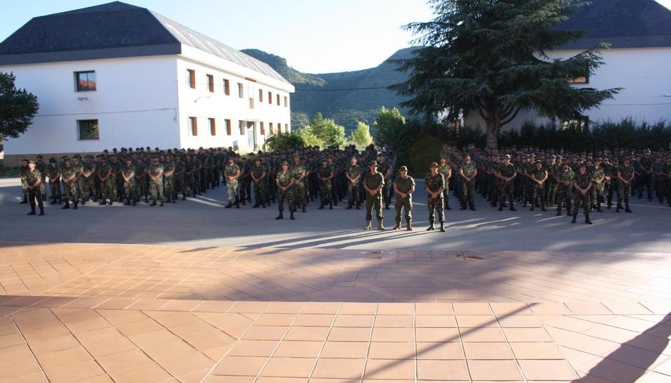 Imagen de archivo de la Academia General Básica de Suboficiales.