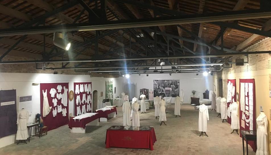La inauguración de la exposición, una selección entre más de 600 piezas, tendrá lugar el domingo.