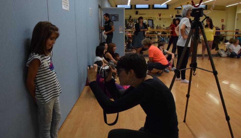 La primera audició del càsting va ser ahir al centre cultural Les Monges de la ciutat.