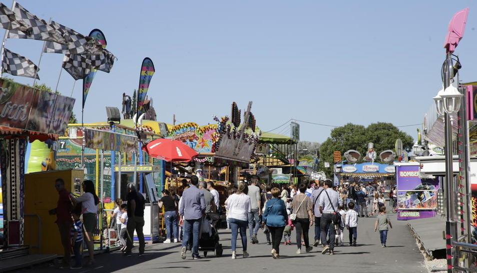 Les firetes es van estrenar al recinte de l'antiga Hípica de Cappont per les Festes de Maig d'aquest any.