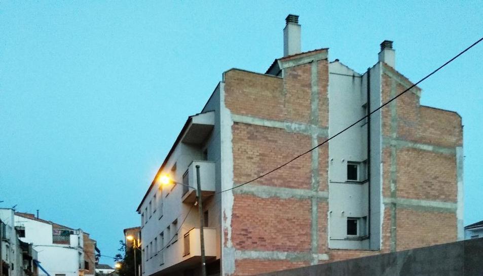 Actual estat del carrer Maria Lois de les Borges.