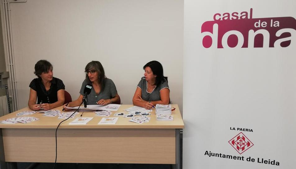 El Casal de la Dona va acollir ahir la presentació de l'Activa't al Casal.