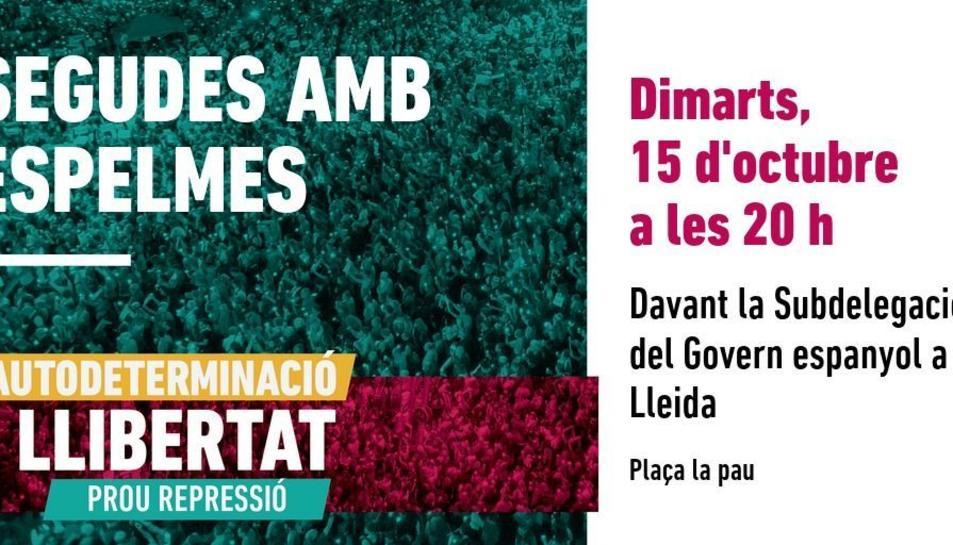 ANC y Òmnium convocan concentraciones para esta tarde ante las delegaciones del gobierno español