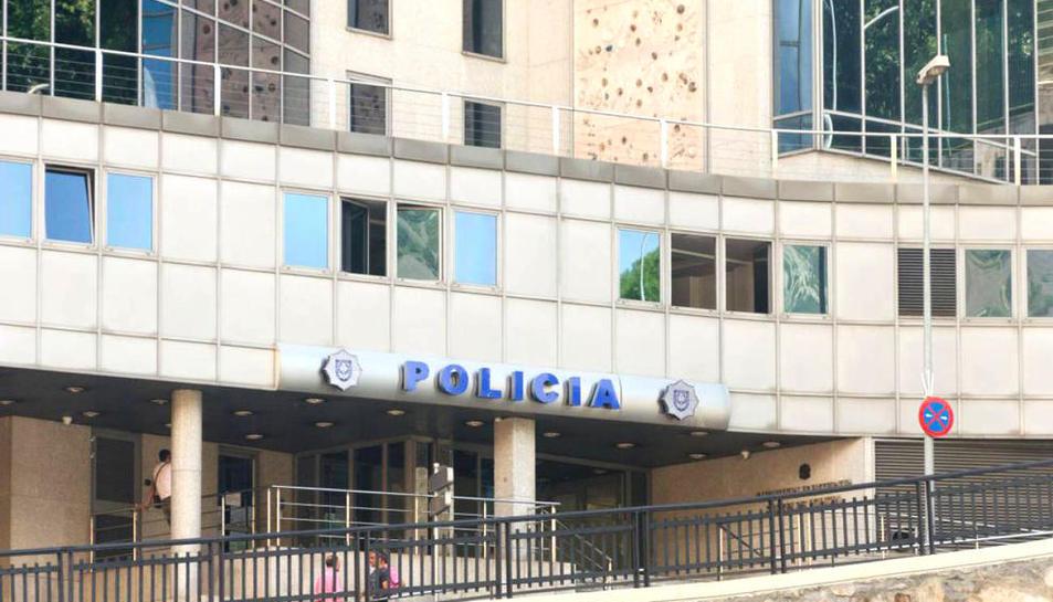 Imatge d'arxiu de la seu de la policia d'Andorra.