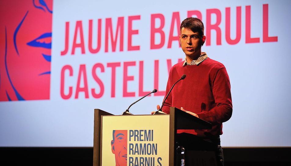 Jaume Barrull Castellví va ser reconegut pel reportatge 'Boscos, la gestió pendent
