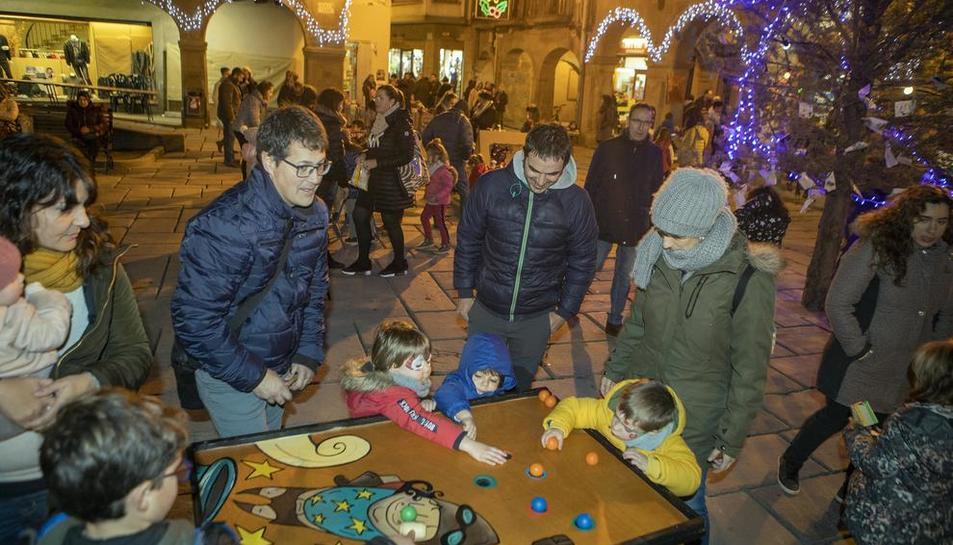 Guissona celebra la Fira de Nadal con un mercado y multitud de actos