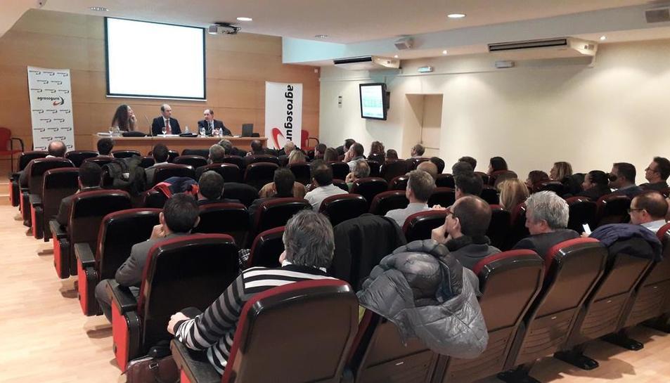 Jornada organizada el martes en Lleida por Agroseguro.