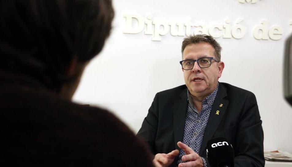 """Talarn: """"A la Diputació de Lleida ERC i JxCat tenim clar que treballem pels municipis, siguin del color que siguin"""""""