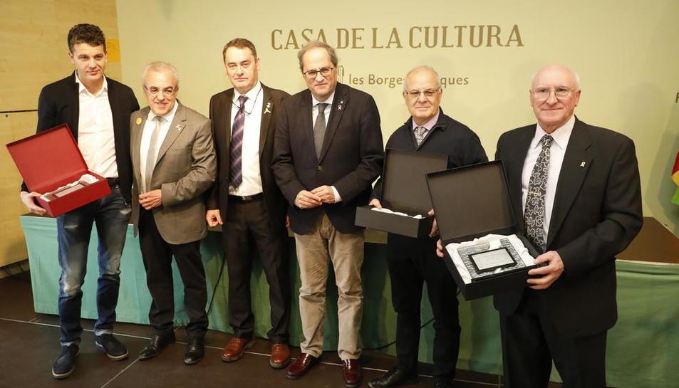 Reconocimiento para las empresas Estructures Guima y Urgasa.