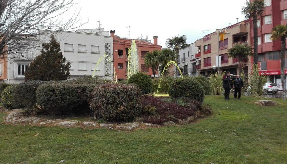 La agresión se produjo en las inmediaciones de la plaza del Terrall.