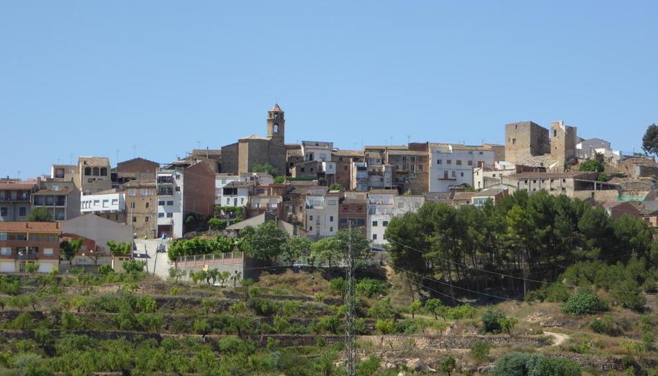 Vista panorámica de l'Albagés, que ha sufrido cortes estos días.