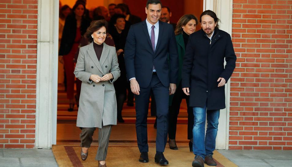 Estos son los sueldos del nuevo Gobierno de Pedro Sánchez