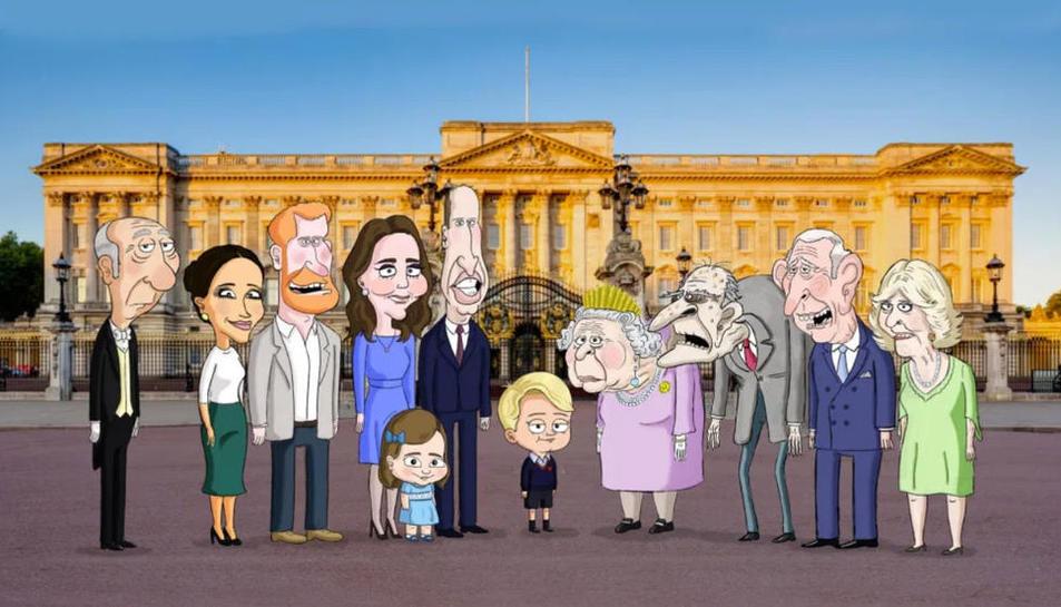 Sèrie de la família reial britànica