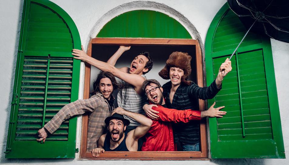 La banda publicó el pasado año su último disco, 'Dueños de nada'.