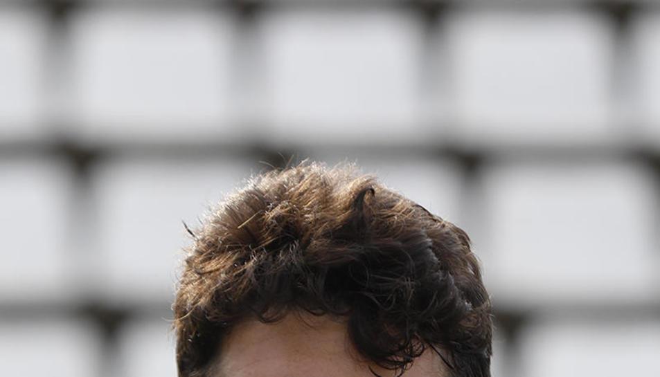 Cano va tenir una ocasió molt clara per empatar abans del gol d'Adri León.