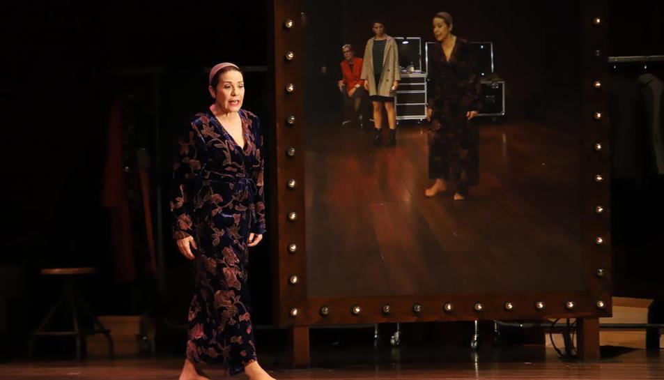 Emma Vilarasau, en Balaguer en una obra dirigida por Sílvia Munt