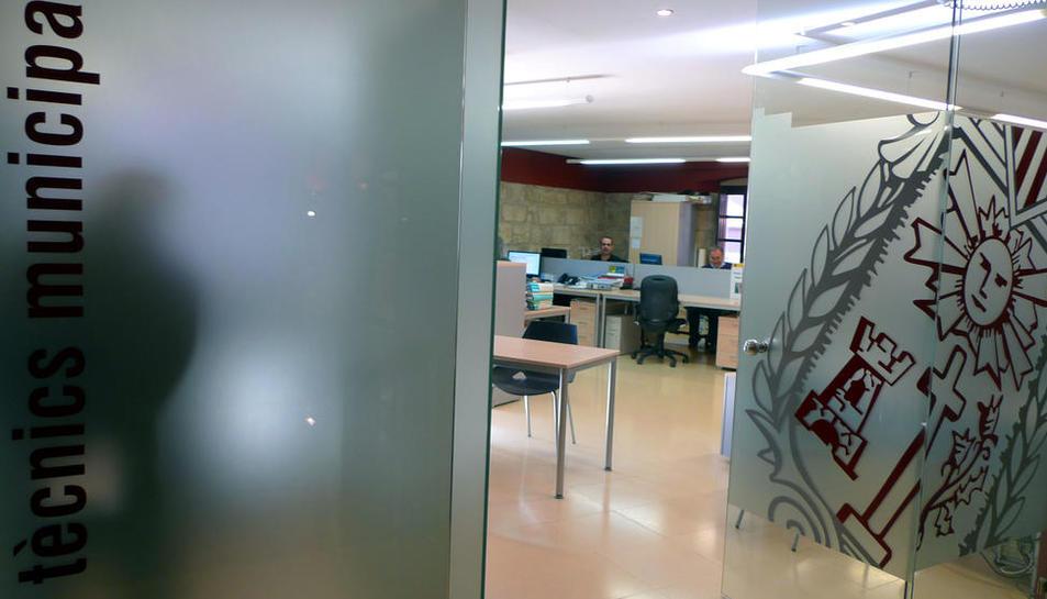 Oficina técnica del ayuntamiento de Solsona.
