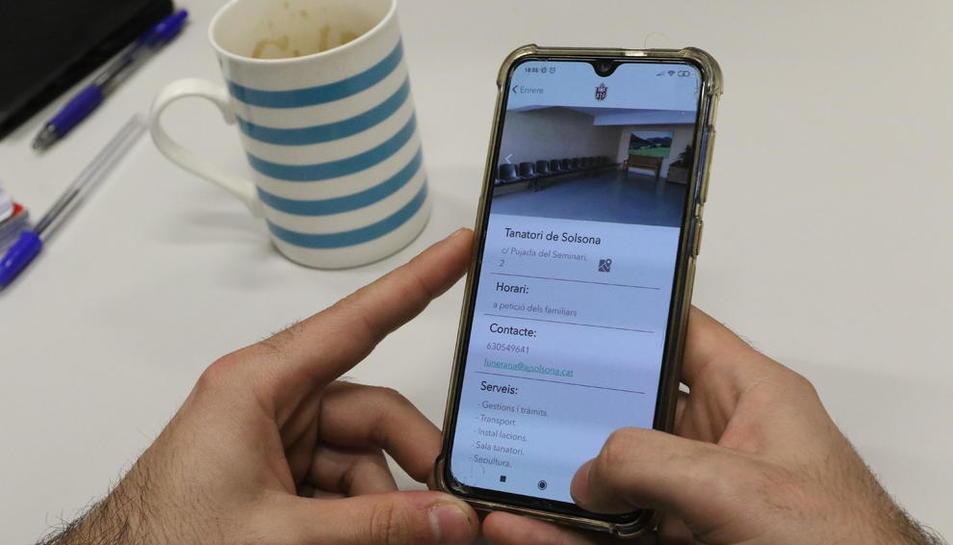 La aplicación está disponible tanto para Android como para iOS.
