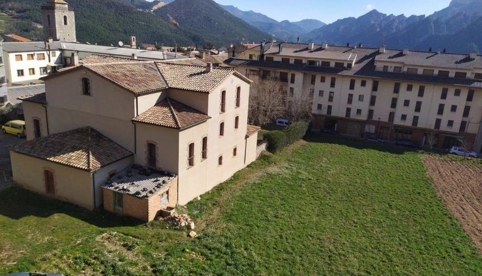 Les instal·lacions de l'ajuntament de Sant Llorenç.