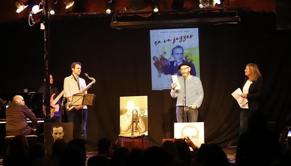 El llegat de l'escriptor francès Boris Vian s''escolta' a Lleida